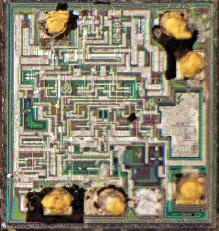 Analog Devices REF01 ADR01 2017 Die